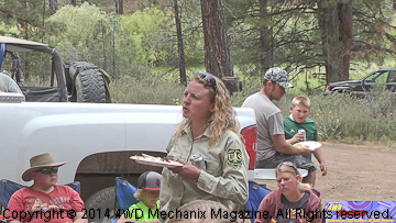 U.S. Forest Service extends thanks to the 4x4 and OHV volunteers