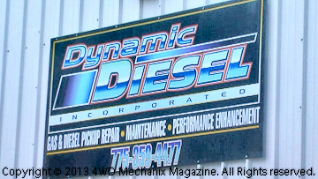 Dynamic Diesel, Inc., opens its new shop at Sparks, Nevada!