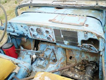 This Jeep needed major restorative work.