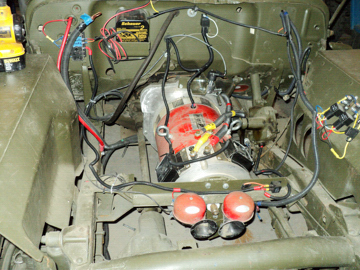 Warp 11 Motor Mounted With All Wiring And Electrical Accessories