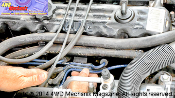 4.0L Jeep inline six with Pulstar® spark plugs installed