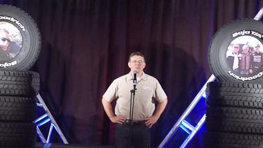 Tom Sullivan from BFG/Michelin