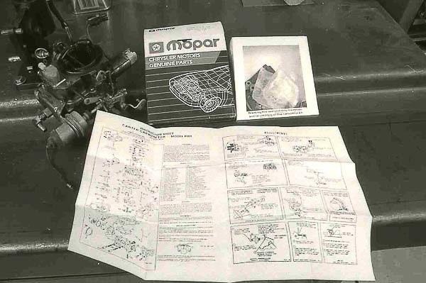 Genuine Mopar rebuild kit for BBD