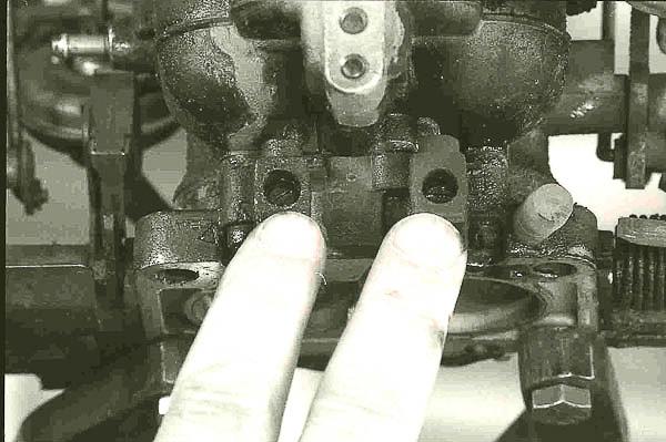 Removing idle mixture screws