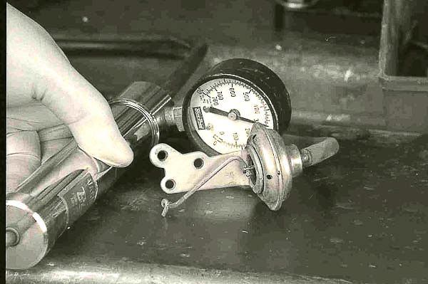 Vacuum pump test