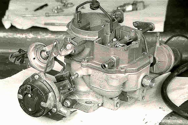 Blueprint rebuild of the Carter BBD Jeep carburetor