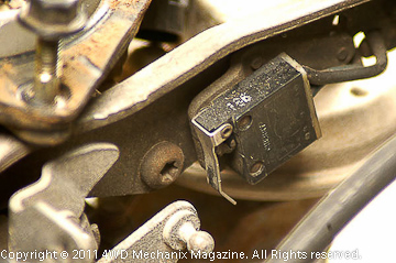 Wide Open Throttle switch (WOT) for 2.5L four