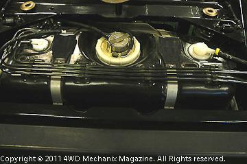 TJ Rubicon fuel tank and fuel/vapor lines.