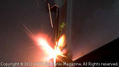 Gas welding tip sizing and torch settings