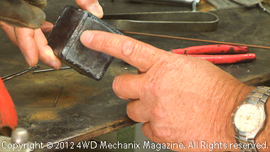 Making quality beads with oxy-acetylene welding