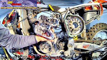 Rocker arms and rocker cover inspection
