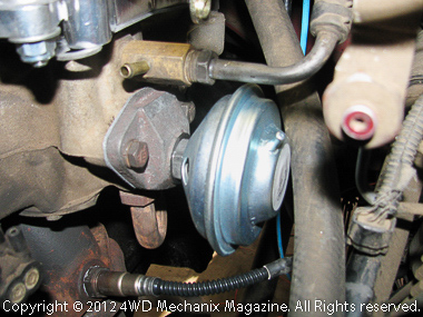OEM replacement EGR valve makes the system legal.