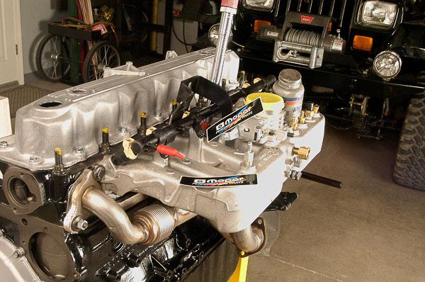 Moses Ludel's 4WD Mechanix Magazine - Jeep CJ Inline Six Stroker
