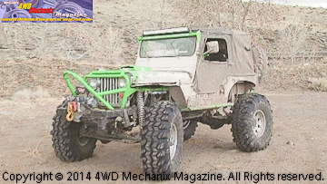Family CJ3A now a heavily modified Jeep flat-fender