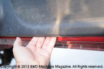 Fragile door panel plastic clips