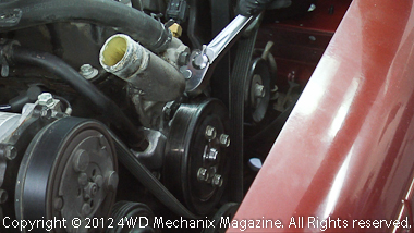 Moses Ludel S 4wd Mechanix Magazine How To Jeep 4 0l Water Pump