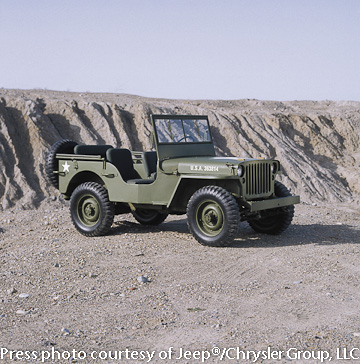 WWII icon, the MB Jeep 4x4