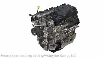 3.6L Pentastar raises horsepower, torque and usable power in the new Jeep Wrangler!