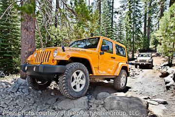 New 2012 JK Wrangler Rubicon Unlimited plying the Rubicon Trail!