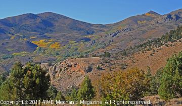 Eastern Sierra and Sweetwater views