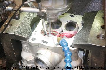 Precision Honda XR650R machine work by L.A. Sleeve Company