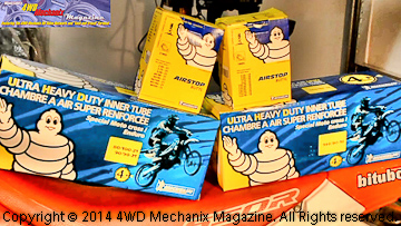 Michelin motorcycle tire tubes