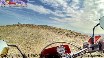 Steeper climb with the Honda XR650R