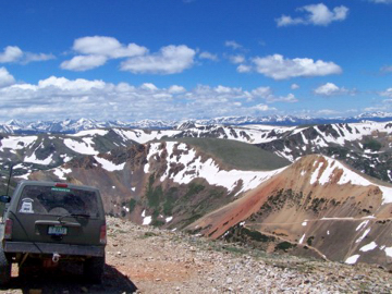 High country in Colorado is spectacular.