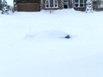 Urban Colorado areas get immense snow, too!