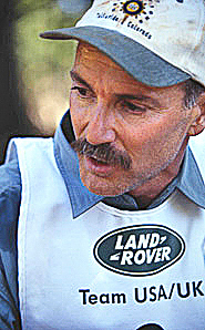 Land Rover Trek Competition, Moses Ludel on Team USA-UK