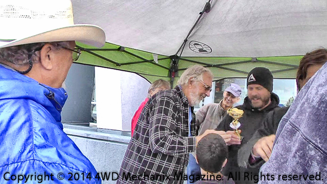 'Show-N-Shine' trophies from Nevada Four-Wheel Drive Association