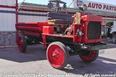 1918 Nash-Quad 4WD truck at Moab, Utah
