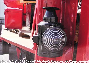 Carbide and kerosene lamps were the era's brand.