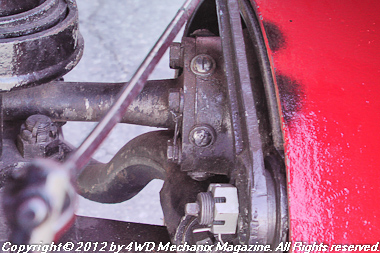 Drive axle, wheel and brakes