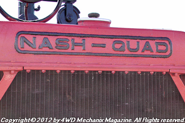 Nash-Quad went to The First World War