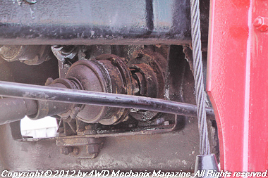 Front driveline and transmission