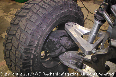 Custom aluminum suspension arms