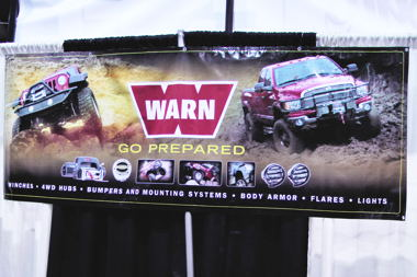 Warn poster fits the 4WD Mechanix Magazine audience perfectly!