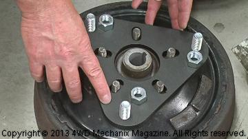 OTC 6574-1 Universal Puller Plate adapter
