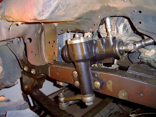Scout II steering gear photo from Mark S.