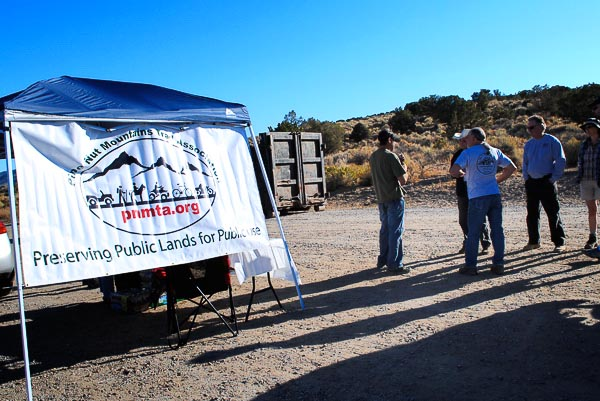 Pine Nut Mountains Trail Association organizes these clean-ups.