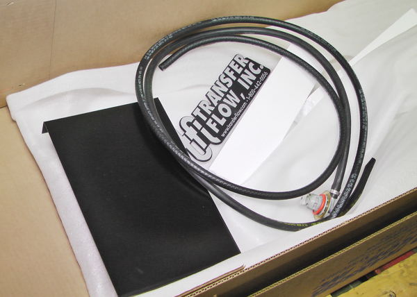 Auxiliary fuel tank kits come with all wiring, hoses, the pump assembly and the electronic monitoring system.