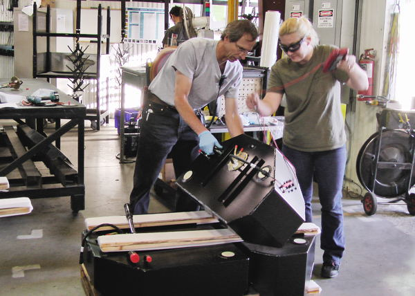 Auxiliary fuel tanks have been the company's primary business, manufacturing at the Chico facility.