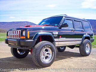 Moses Ludel's 4WD Mechanix Magazine – Show-Winning Jeep XJ Cherokee Sport 4×4