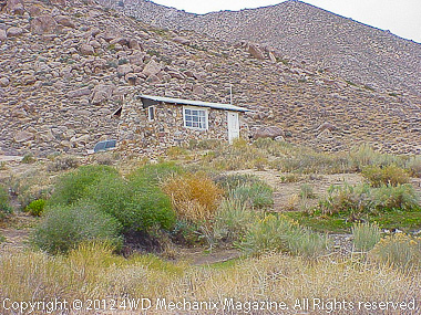 Tom Willis photo of Geologist's Cabin, Death Valley Area