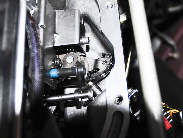 Install gear position switch