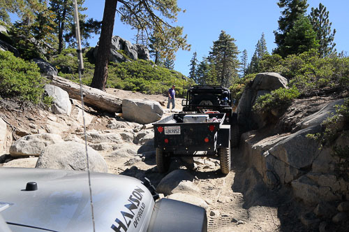 Wheelers for the Wounded on the Rubicon Trail!
