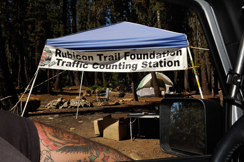 Rubicon Trail Foundation along the early trail section.