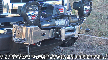 Warn offers a variety of new winch mounting platforms.