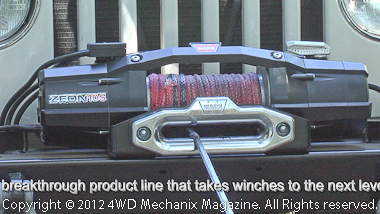 Style of Zeon winch is a major enhancement.
